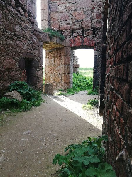 Magical Slains Castle in Cruden Bay Castle Ruins Ruins Architecture Light And Shadow Brick Wall Old Heritage Heritage Building Magical Window Sunlight Architecture Built Structure Abandoned Run-down Damaged Ruined Old Ruin