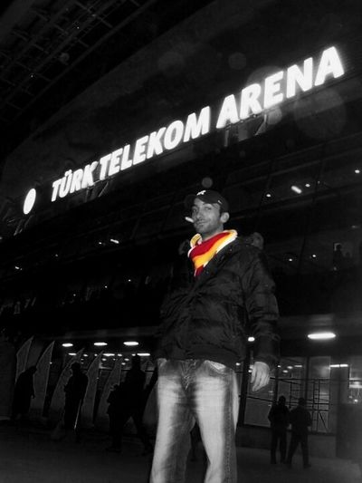Galatasaray TT Arena - Opening Match GalataSaray Ajax UltrAslan Football Oldiesbutgoldies That's Me Yellowandred Giallorosso Hello World Istanbul City
