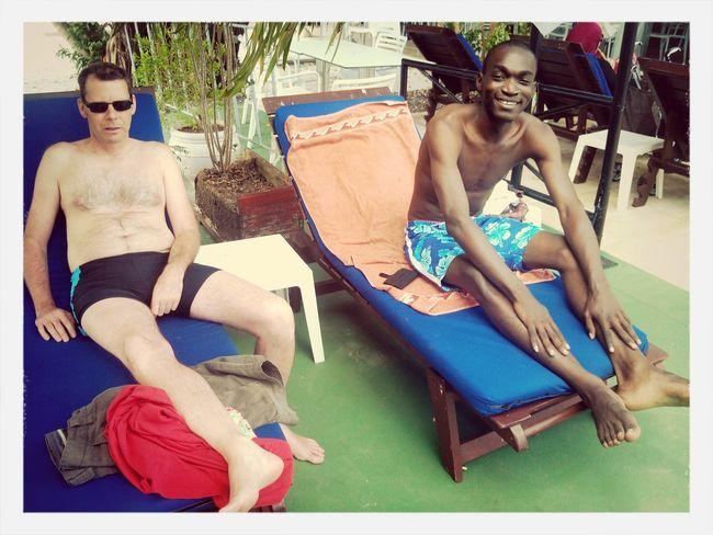 Soleil#piscine☀ Libreville SoGood Life
