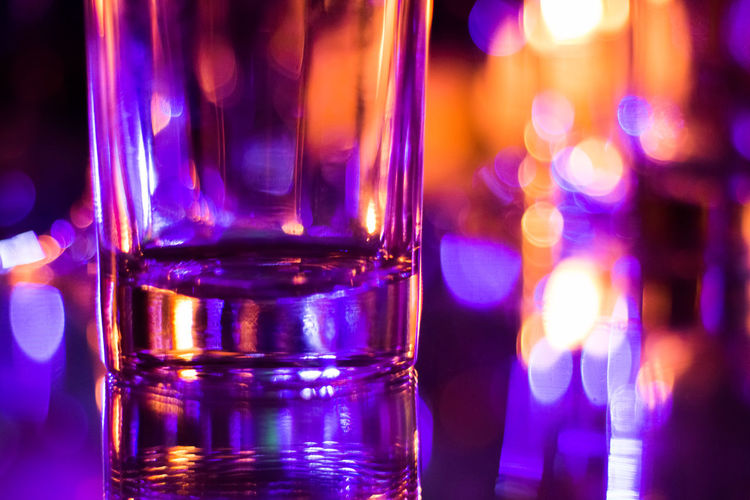 Food Stories Celebration Drinks Glasses Lights Pretty Lights Refreshment Celebration Event Close-up Glass Glass - Material Illuminated Multi Colored One More Drink Party