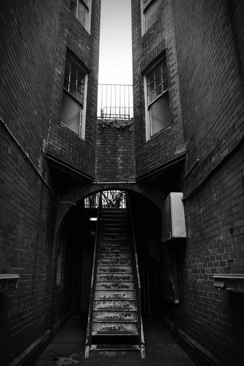 Historic Australia Rusty Iron Old Sydney Stairs Perspective Architecture Building Exterior Low Angle View City No People Built Structure Black And White Screensaver Backgrounds Australian Travel History Low Angle View Wallpaper Sydney Photography Sydney Stairs & Shadows Bricks Heritage Accom Accomodation Perspective Rust Black And White Friday The Graphic City EyeEmNewHere Colour Your Horizn Adventures In The City