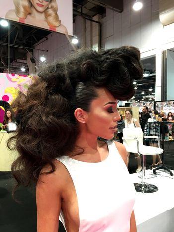 Hair Hairstyle Hairstyles Hairshow Hairdo IBS Las Vegas 2016 First Eyeem Photo