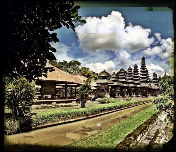 Temple Balinese Cloud #bluesky Sky And Clouds Skyporn Bali Bali, Indonesia Iphpnegraphy