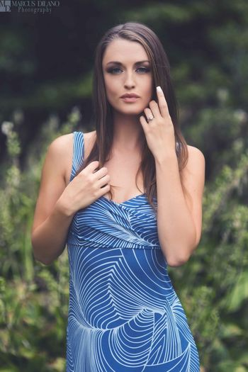 Beauty in Blue Model Modeling Blue Bluedress Glamour Fashion Fashion Photography Beauty EyeEm Best Shots People Photography Popular Photos Color Portrait