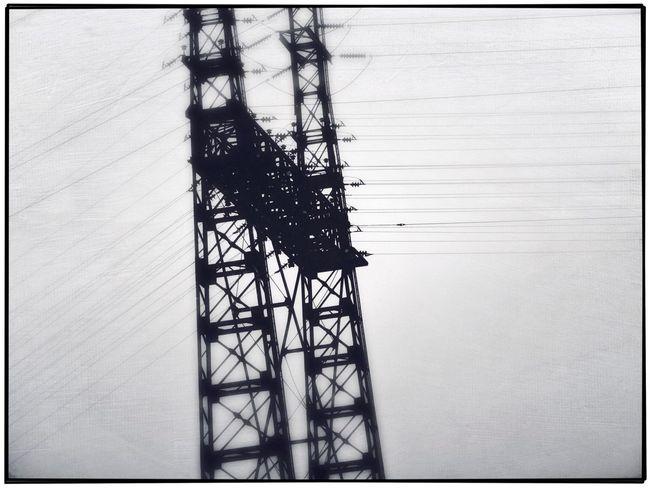 Power Landscape monochrome Electric