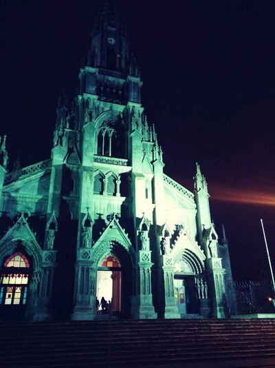 Arquitecture Ghotic. ColdNight Costarica Sanisidrolabrador First Eyeem Photo