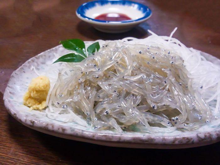Sardines Soy Sauce Shirasu IndoorIndoors  Food Cooking Japan Fish Small Dish Daikon Sagami Bay