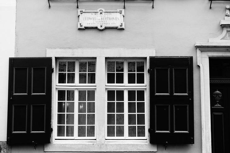 Beethovenhaus Beethovenhaus Bonn Music Festival Window Architecture Building Exterior Built Structure Door Knocker