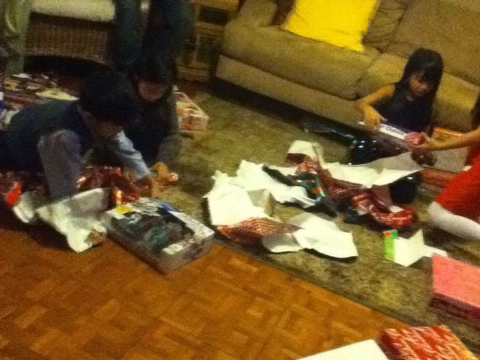 Tearin Up The Gifts