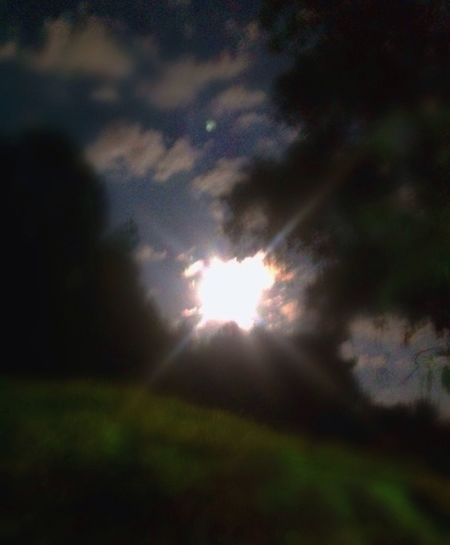 Night Photography Cloudy Fullmoon Check This Out