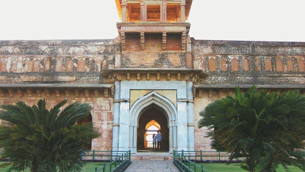 Symmetry Monuments Mandu