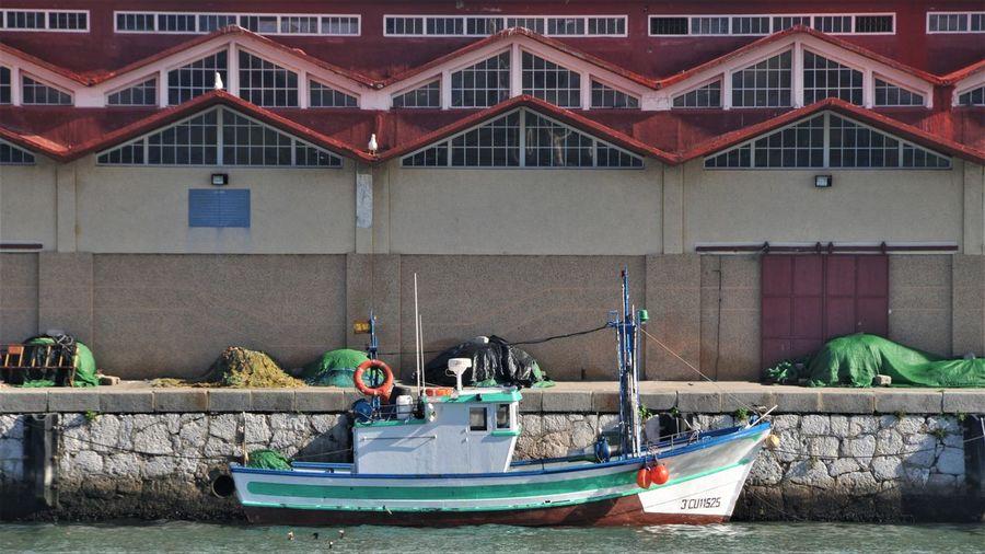 Algeciras Harbor Built Structure Day España Nautical Vessel No People Sea Water