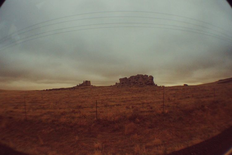 Wyoming sky. Edited with Enlight Sky MidWest On The Road