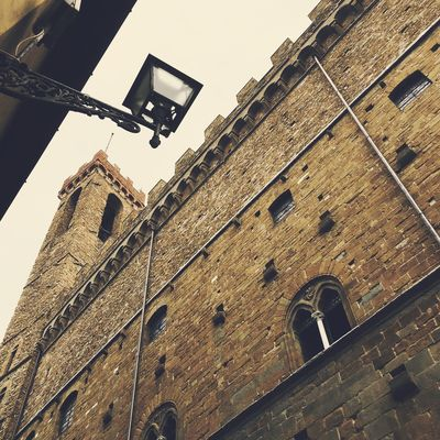 Architecture Brick Wall Building Building Exterior Built Structure City Day Exterior High Section Low Angle View No People Outdoors Sky Tall Tall - High Tilt