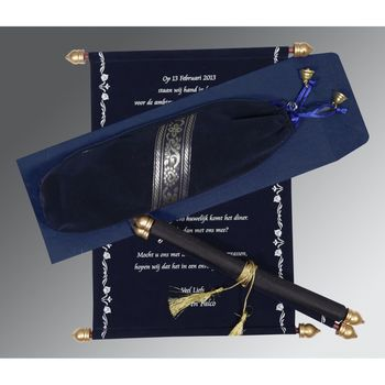 Royal Scroll Invitations | SC-5004F | 123WeddingCards 123WeddingCards Scroll Cards Scroll Invites Scroll Wedding Cards Scroll Wedding Invitation Cards Scroll Wedding Invitations