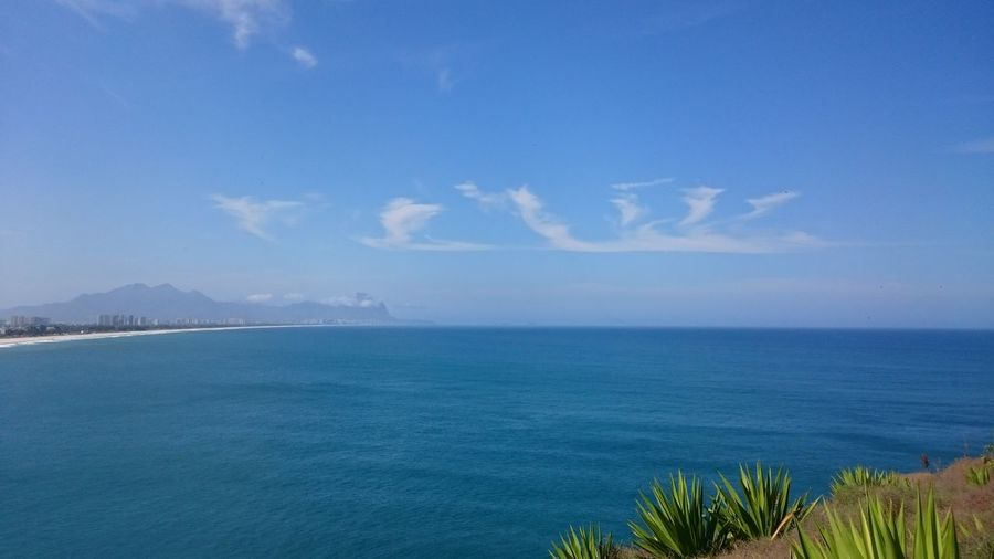 Sea Blue Wave