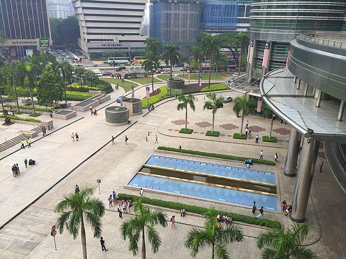 Summer Views from Suria KLCC Kuala Lumpur Malaysia