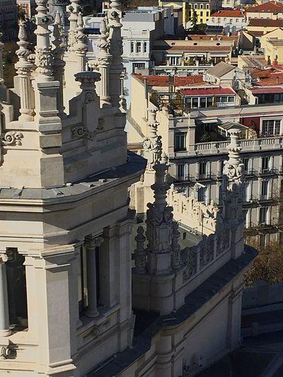 Si subes un poco, todo lo ves distinto. Madrid 💖