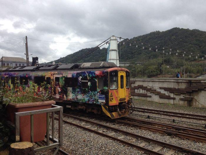 十分車站 Train Traveling
