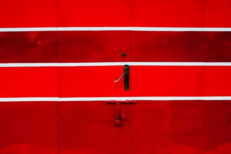 VisualArt  Visualgraphic Visualresponse Colour Lines Red Door Wirokesuma Fuji