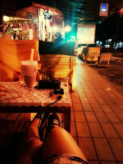 chillin..hehe... Ice Blended Christmas Lights Latenights