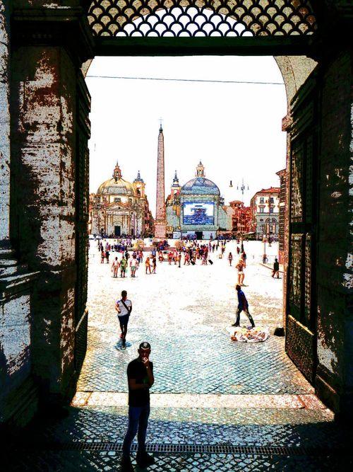 Roma ...P.zza del Popolo