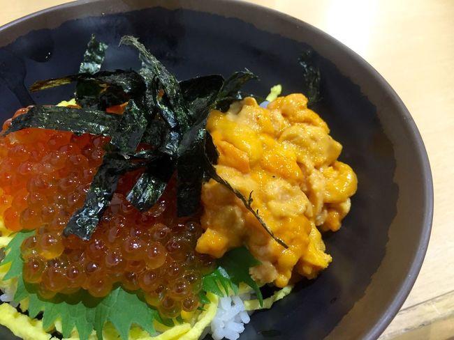 Food Japanese Food Fish Lunch Trip Foodphotography Yummy MyFavorite  Like 雲丹 いくら 海鮮丼 白浜 和歌山