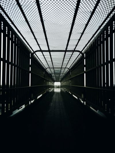 Bridge in corridor