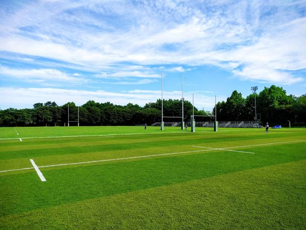 Rugby Field Sport Rugby Field Outdoors Japan