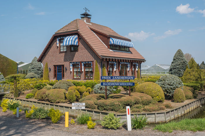 Bollenstreek, Tulip Wonderland Architecture Building Building Exterior Built Structure Grass House Nature Sky Tree