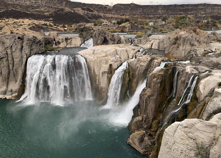 Waterfalls on