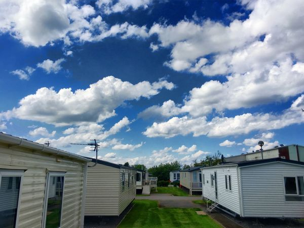 Sky Day Cloud Architecture No People Cloud - Sky Outdoors Cloudy Colour Of Life Eyeemphotography The Essence Of Summer Holiday Caravan Vacation Mablethorpe HDR HDR Collection