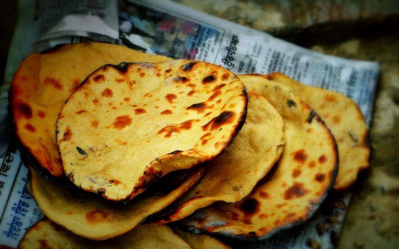 Tehna India Faridkot Foodphotography Healthy Eating Ready-to-eat Close-up No People Freshness Tandoori Chapattis