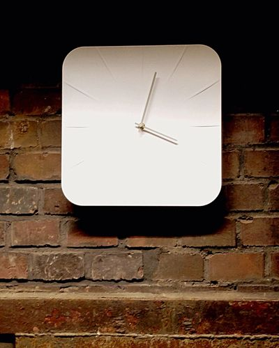 Watch The Clock Clock Wall Interior Design White Smart Simplicity