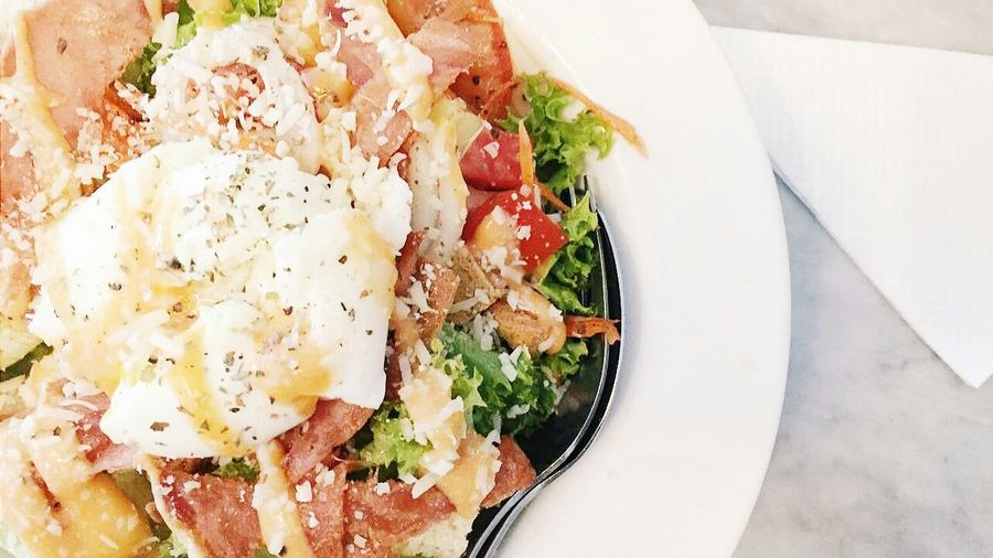 Caesarsalad Healthy Healthy Food Foodporn Vegetables Salad Favourite Appetizer Vscocam