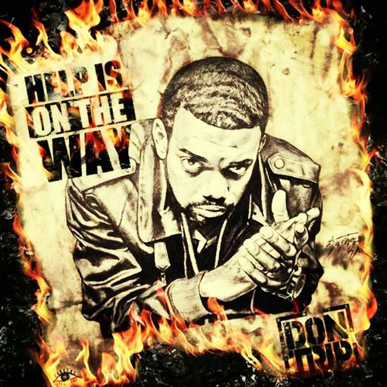 help is on the way couse that niggah don trip Hot!!! check um out an if u like him send me ah comment!