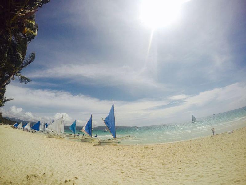 Sandy Beach Boracay Philippines Philippines