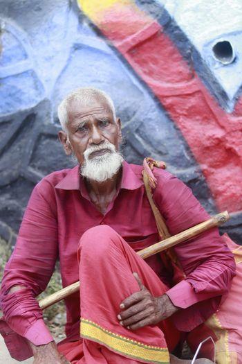 Beggar Portrait