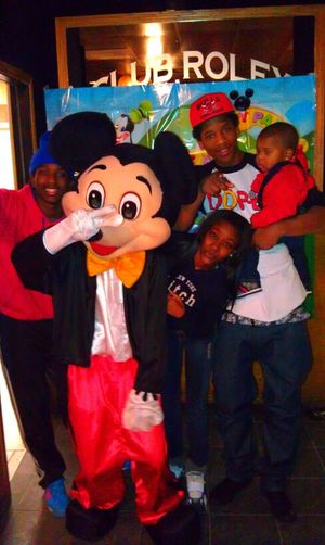 chilling wit the Birthday Boi and Mickey s/o to my luh bro