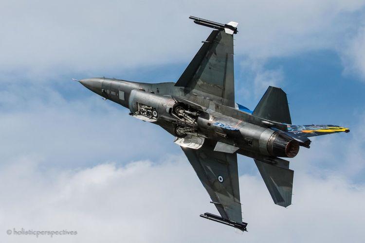 Greek F-16C Blk 52+ executing a crazy takeoff at RIAT15 RIAT2015 F16fightingfalcon First Eyeem Photo