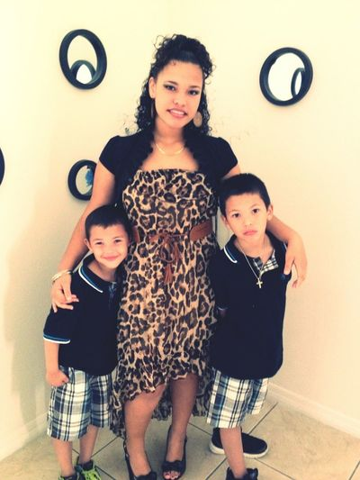 My 2 Lil Brothers I Got To Love Them <3