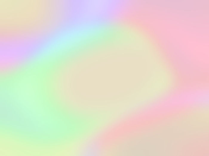 Defocused image of rainbow