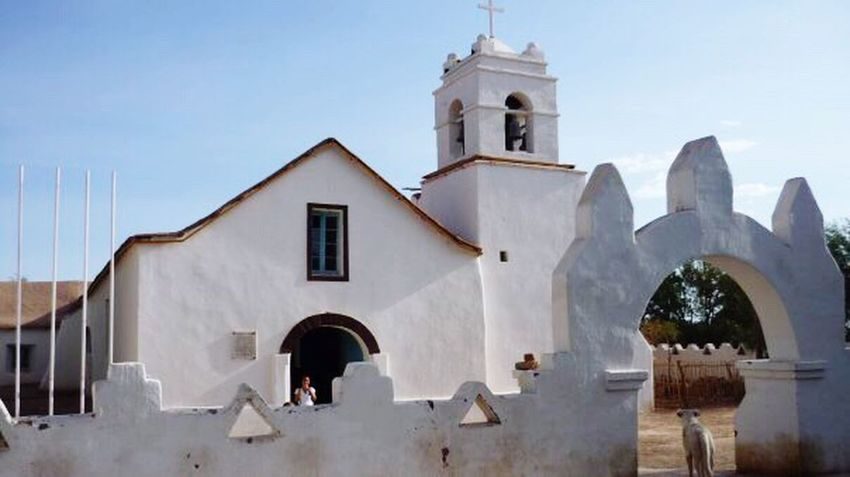 Taking Photos Travel Photography Old Church Adobe Building Beautiful Town Lovely Place San Pedro De Atacama Chile Chile♥