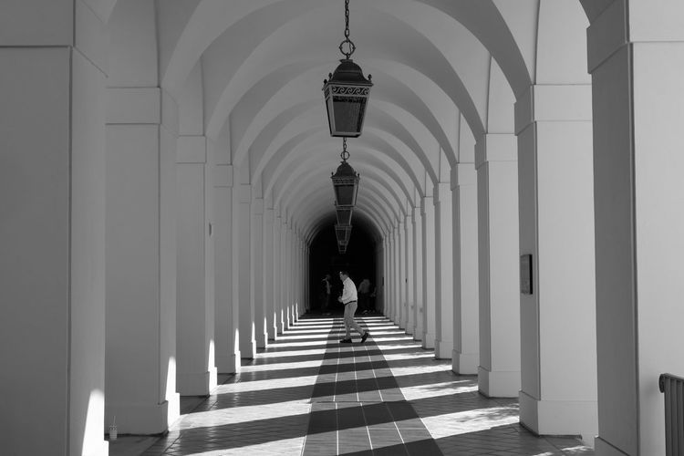 Hall History In A Row Architecture Architectural Column Travel Destinations Cultures Indoors  Day No People Order Building Blackandwhite EventPhotography Fujifilm_xseries Arts Culture And Entertainment Straightfromcamera Retro Styled White Blackandwhitephotography City Hall Pasadena City Hall