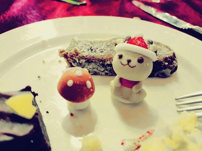 Cute♡ Cuteness Cake Dessert Mushroom Mushrooms Party Holidayparty Indoors  No People Food And Drink Indulgence Temptation Food Sweet Food