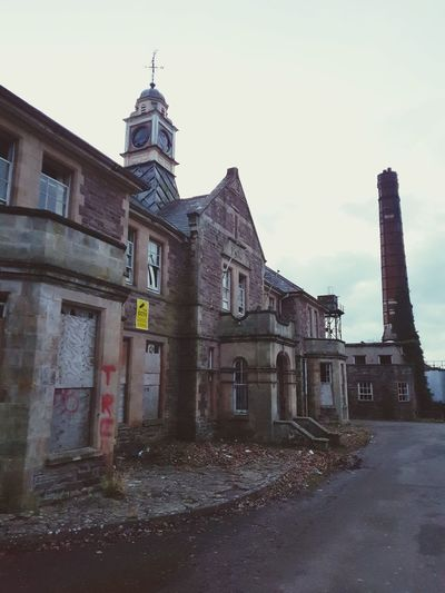 lucky to live just down the road from this place. It's such a shame to see a beautiful building slowly crumble away. The Mid Wales Hospital, originally the Brecon and Radnor Joint Counties Lunatic Asylum. the main entrance. Wales Walks Photography Welsh Countryside Countryside Samsungphotography SamsungGalaxyS8 Outdoor Photography Hospital Asylum Mental Hospital  Mid Wales Hospital Leftbehind Left To Nature Entrance Beautiful Building Ww2 Hospital Main Building History Architecture Sky Building Exterior Built Structure Old Ruin Ruined The Past Historic