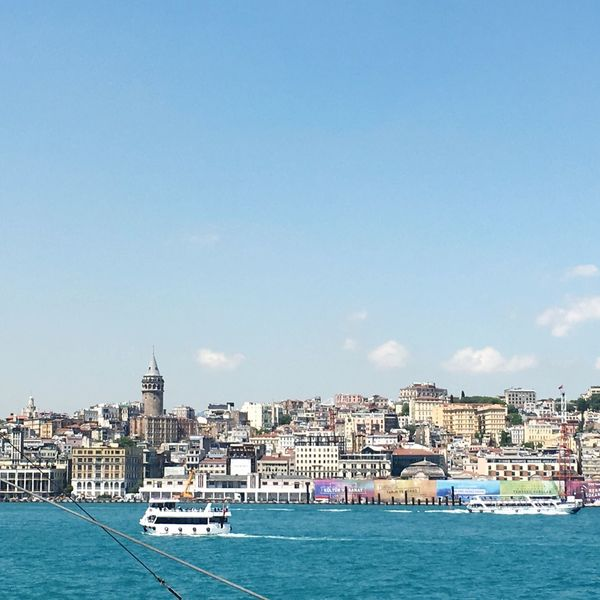 Istanbul Tower Galata Tower Galata Galatakulesi Karaköy Haliç Blue Sky Buildings Colorful Colorful Houses Houses By The Sea House In The Water House In The Sea City Old Town Turkey House On The Hill Travel Best Of EyeEm The EyeEm Collection