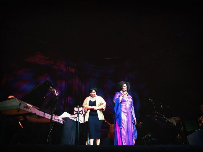 Nadia Washington And Dianne Reeves
