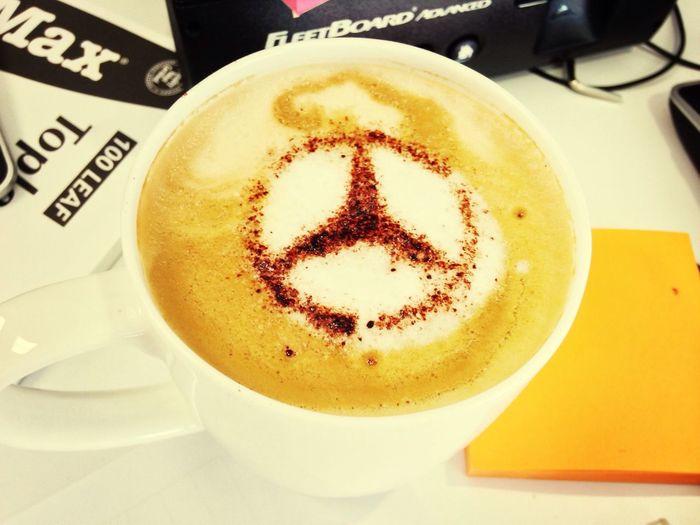 hier wird der Kaffee noch mit <3 zubereitet! :)