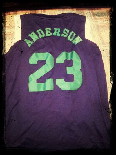 AAU jersey wit last name on back 2 fye